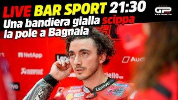 MotoGP: LIVE Bar Sport alle 21:30 con Ciabatti - Bagnaia e la pole scippata dalla bandiera