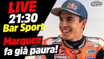 MotoGP: LIVE Bar Sport alle 21:30 - Marquez è tornato e fa già paura!