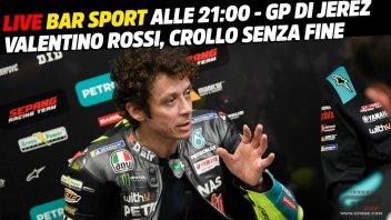 MotoGP: LIVE - Bar Sport alle 21:00 - Valentino Rossi: crollo senza fine