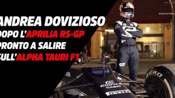 MotoGP: Dovizioso non si ferma: dall'Aprilia RS-GP all'Alpha Tauri F1