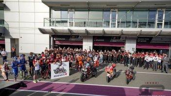 MotoGP: MotoGP remembers Gresini in Qatar: a minute of silence for Fausto