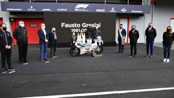 MotoGP: Formula Uno e MotoGP commemorano assieme Fausto Gresini