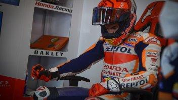 """MotoGP: Le lacrime di Marquez: """"oggi mi sono risentito un pilota di MotoGP"""""""