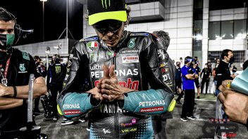 """MotoGP: Rossi: """"I hope to solve the tire problems, there are positive aspects"""""""