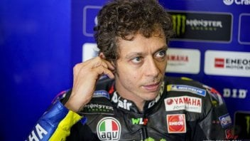 """MotoGP: Valentino Rossi deluso: """"Io e Morbidelli non siamo riusciti a farci coraggio"""""""