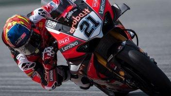 SBK: Rinaldi-Davies: Ducati mostra i muscoli nei test di Aragon, 5° Redding