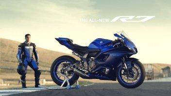 Moto - News: Yamaha R7 2022: ecco gli scatti rubati! - FOTO GALLERY