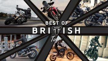 Moto - News: Triumph inaugura 11 concessionarie e parte con i demo-ride 2021