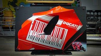 Moto - News: Una carena della Ducati Desmosedici da MotoGP di Casey Stoner all'asta