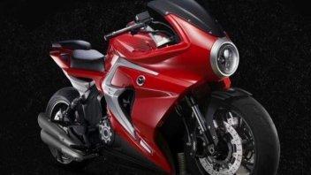 """Moto - News: Motrac Unicorn, la """"cinesata"""" che copia la MV Agusta Superveloce"""