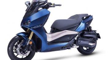 Moto - Scooter: Tairong TR400: lo scooter con lo sguardo da Ducati Panigale