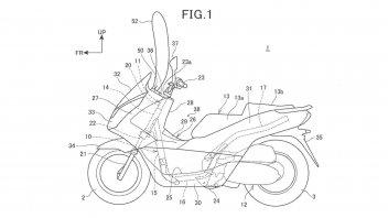 Moto - News: Honda: in sviluppo un'ulteriore tecnologia airbag per scooter