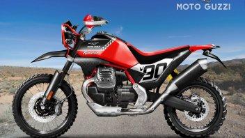 Moto - News: Se Moto Guzzi tornasse a correre nei Rally? La V85 TT diventerebbe così