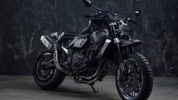 Moto - News: Yamaha XSR700 The Bull, Officine GP Design scatena il toro