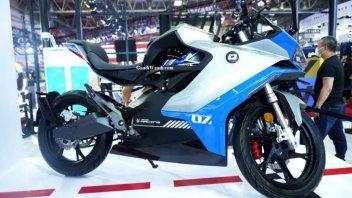 Moto - News: QJ7000D: l'elettrica del futuro di Benelli svelata in Cina