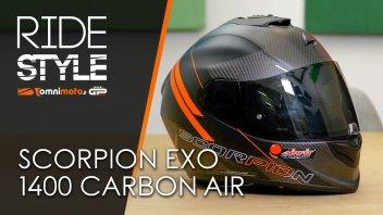 Moto - Test: Casco Scorpion Exo 1400 Carbon Air | RideStyle
