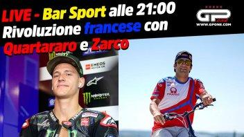 MotoGP: LIVE Bar Sport alle 21:00 - Rivoluzione francese con Zarco e Quartararo
