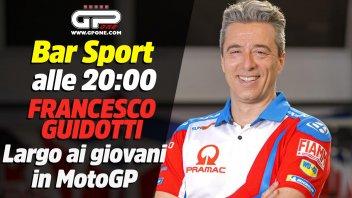 MotoGP: Bar Sport LIVE alle 20:00 con Francesco Guidotti: Largo ai giovani in MotoGP