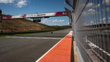 SBK: La Superbike scopre Navarra: foto e video della prima giornata di test