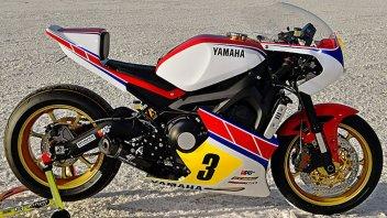Moto - News: Yamaha XSR900: una racer ispirata alla TZ750