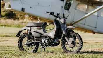 "Moto - News: Honda Super Cub 125X, il tubone ""special"" pronto per i rally"