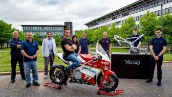 Moto - News: Norton oltre ai guai, il futuro è tra le competizioni e l'elettrico