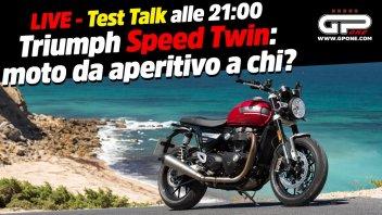 Moto - News: LIVE Test Talk alle 21:00 - Triumph Speed Twin: moto da aperitivo a chi?