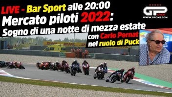 MotoGP: LIVE Bar Sport alle 20:00 - Mercato piloti: sogno di una notte di mezza estate