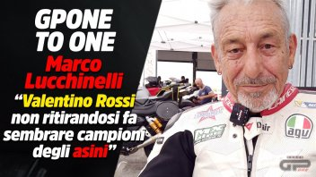 """MotoGP: Lucchinelli: """"By not retiring Rossi makes donkeys look like champions"""""""