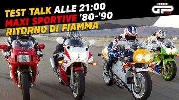 Moto - Test: LIVE- Test Talk alle 21:00- Maxi-sportive del passato: ritorno di fiamma!