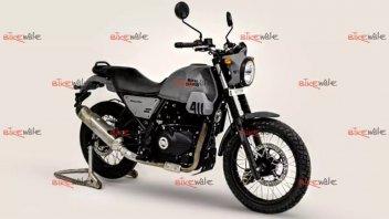 Moto - News: Royal Enfield Scram 411: una Himalayan stradale e low cost per l'Asia