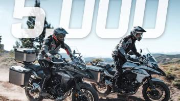 Moto - News: Benelli TRK 502: in 7 mesi venduti 5.000 esemplari