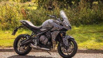 Moto - News: Triumph Tiger Sport 660, arriva la crossover tre cilindri entry level