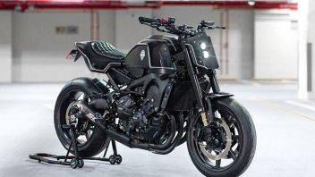 Moto - News: Yamaha XSR900 by Rough Craft: street tracker con un kit