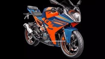 Moto - News: KTM RC 390 2022, dall'Asia le prime immagini ufficiali
