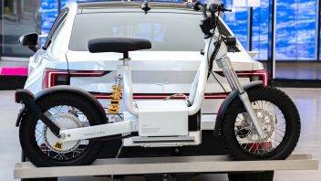 Moto - Scooter: CAKE e Polestar: il ciclomotore elettrico che si ricarica in traino