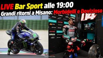 MotoGP: LIVE Bar Sport alle 19:00 - Grandi ritorni a Misano: Morbidelli e Dovizioso