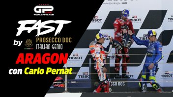 """MotoGP: Fast By Prosecco Aragon, Pernat: """"Bagnaia won against the real Marquez"""""""