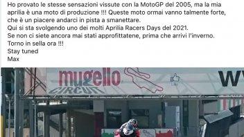 News: VIDEO - Biaggi on one wheel in 6th gear at Mugello with the Aprilia RSV4