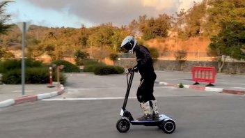 Moto - Scooter: Skyer: il monopattino israeliano che arriva a 100 km/h