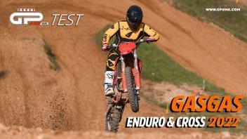 Moto - Test: Video Prova GASGAS gamma Enduro e Cross 2022: ritorno in grande stile!