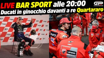 MotoGP: LIVE Bar Sport alle 20:00 - Ducati in ginocchio davanti a re Quartararo