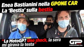 """MotoGP: Bastianini nella GPOne Car: """"La MotoGP? Uno shock, la sera mi girava la testa"""""""