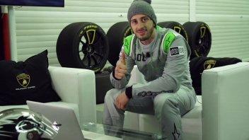 Dovizioso vince con la Lamborghini Huracan a Valencia