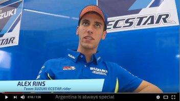 MotoGP: Rins: dell'Argentina mi piacciono pista e... cibo