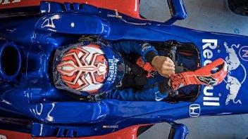 News: VIDEO. Marc Marquez driving a Formula1 car