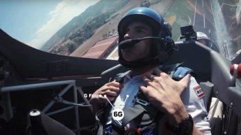 MotoGP: Marquez takes off... not just in the MotoGP