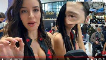 """EICMA: Una panoramica del salone con le """"belle"""" e i loro account Instagram"""