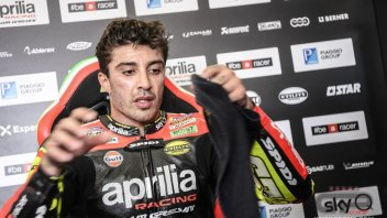 DOPING: The 2020 RS-GP is fast at Sepang: Aprilia regrets Iannone