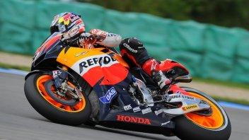 Moto - News: Warmup MotoGP: Dovi 1°, Rossi penultimo